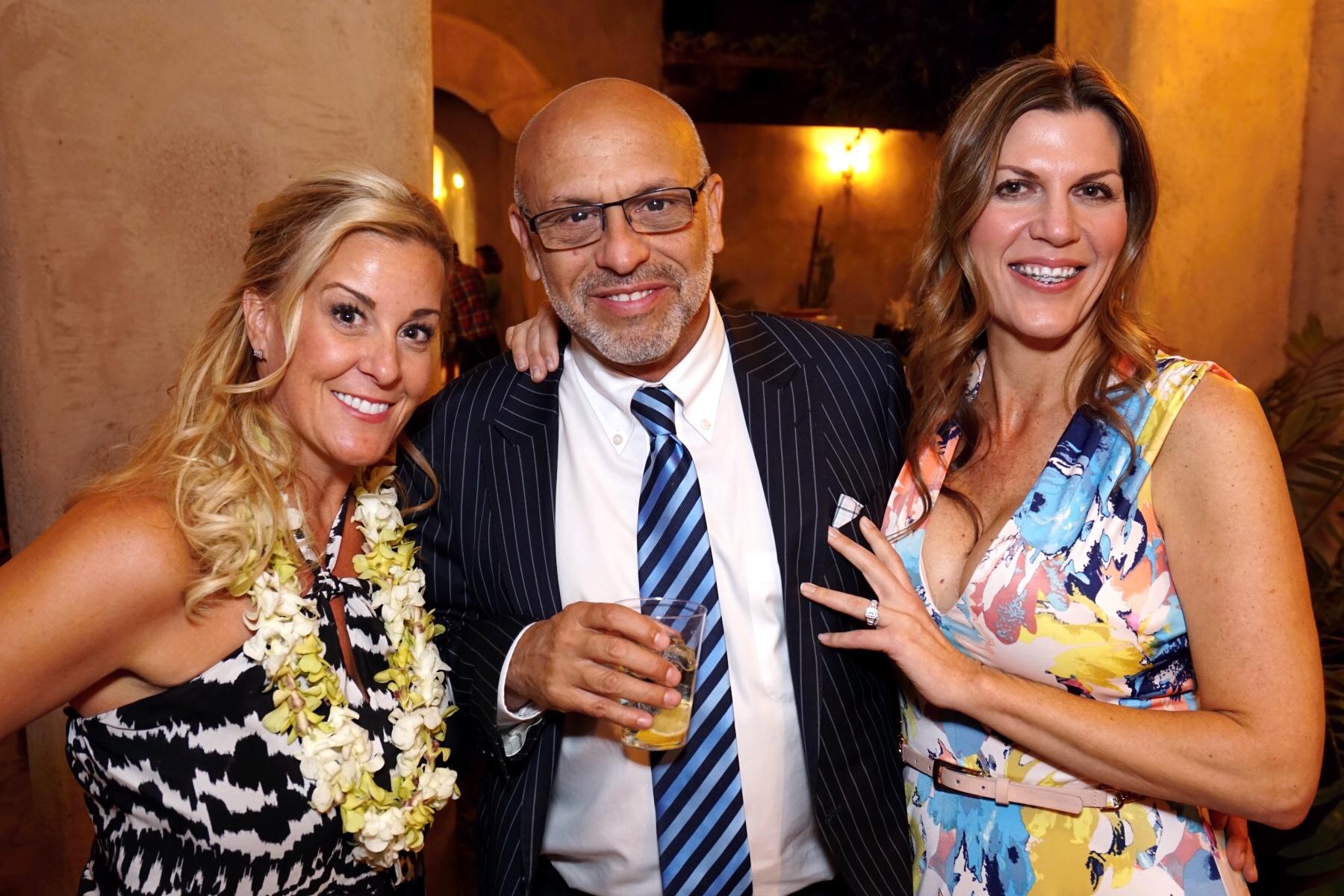 Gigi's Playhouse Phoenix Founder, Jennifer Gage with MC & Is at the Gigi's Gala