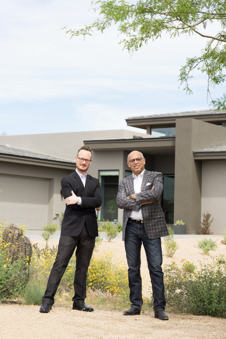 Project Manager, Damon Wake and Architect, Mark Candelaria - HGTV Smart Home 2017