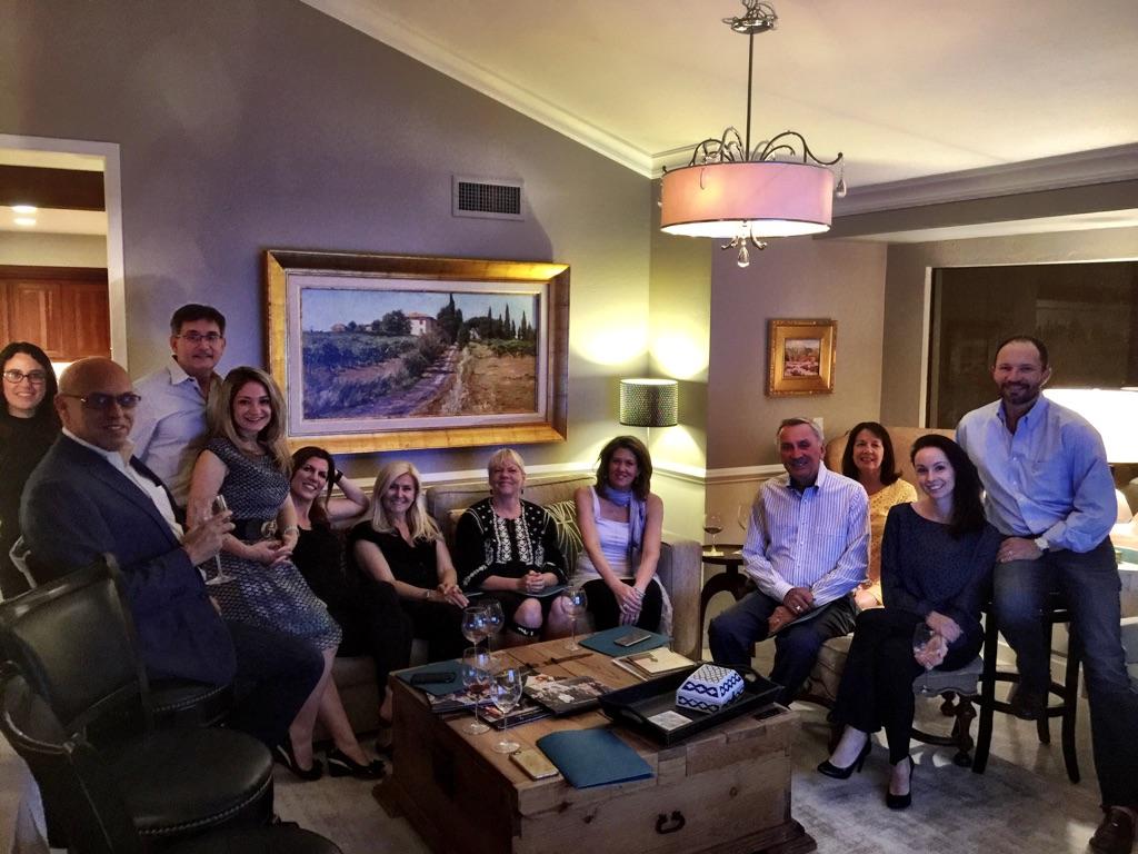 Our 2017 Candelaria Design Tour Italy Travelers, minus three!