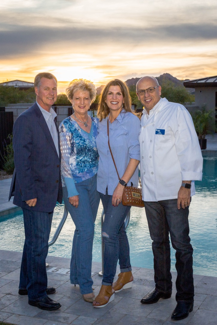 Rod and Kim Cullum with Isabel and MC at the Habitat for Humanity Fundraiser