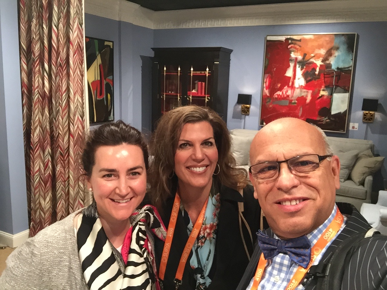 Catherine Kennedy of Chaddock Home in Highpoint, NC with Isabel and MC