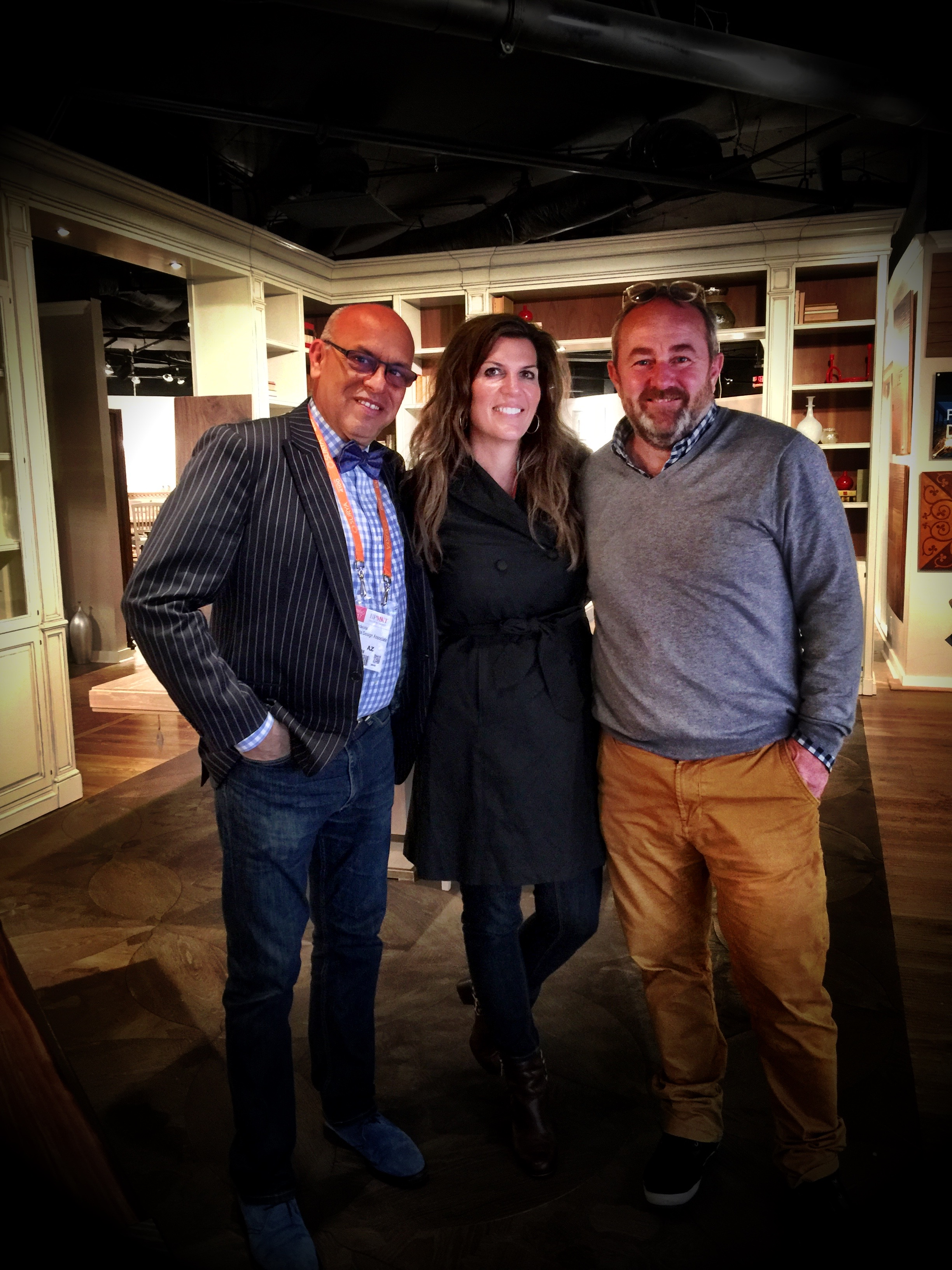 MC and Isabel in Highpoint with Marco Felcioli of Artitalia located right here in Scottsdale!