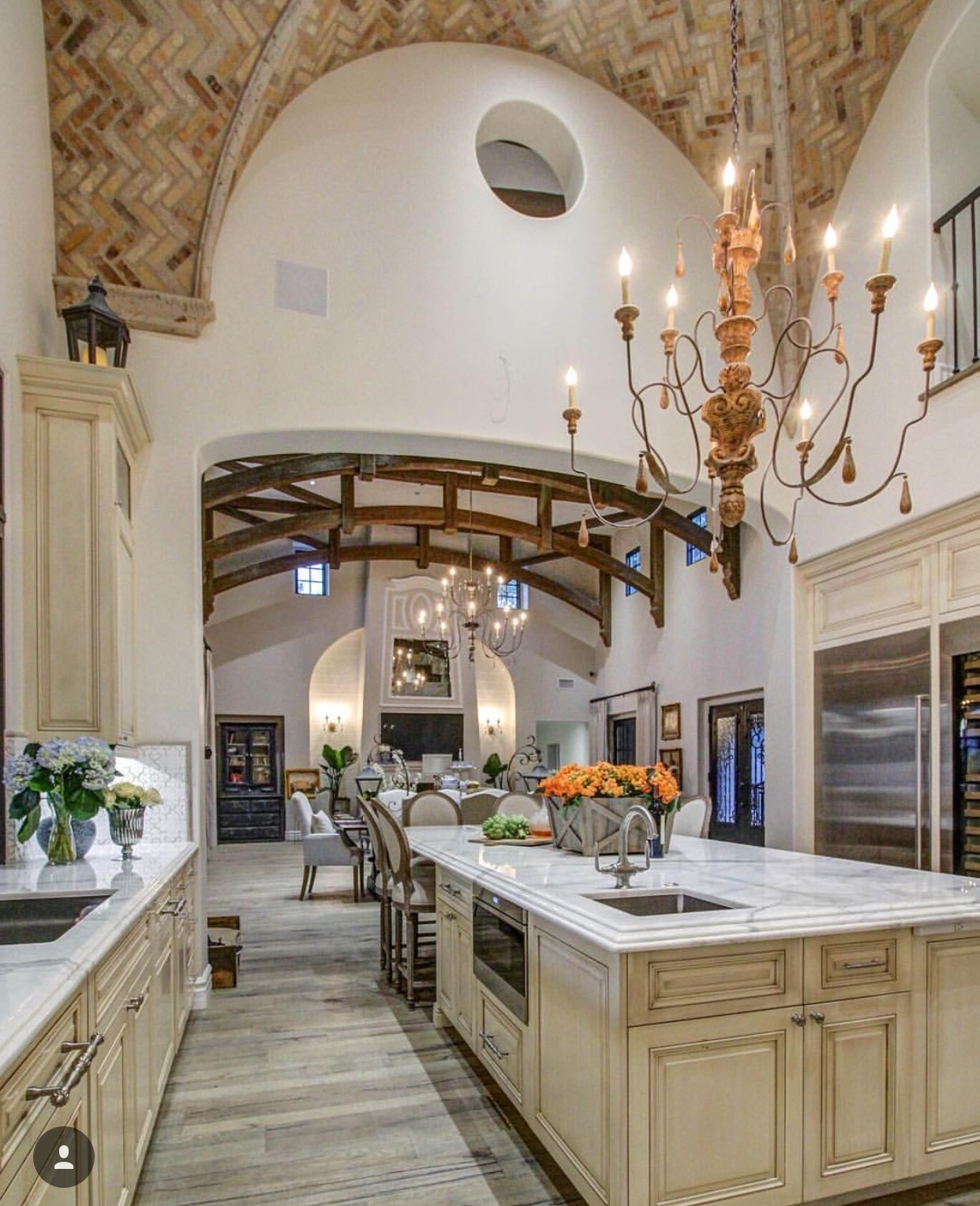 Kitchen Great Room of whole house remodel/makeover in Chandler by Candelaria Design and Earth and Images.