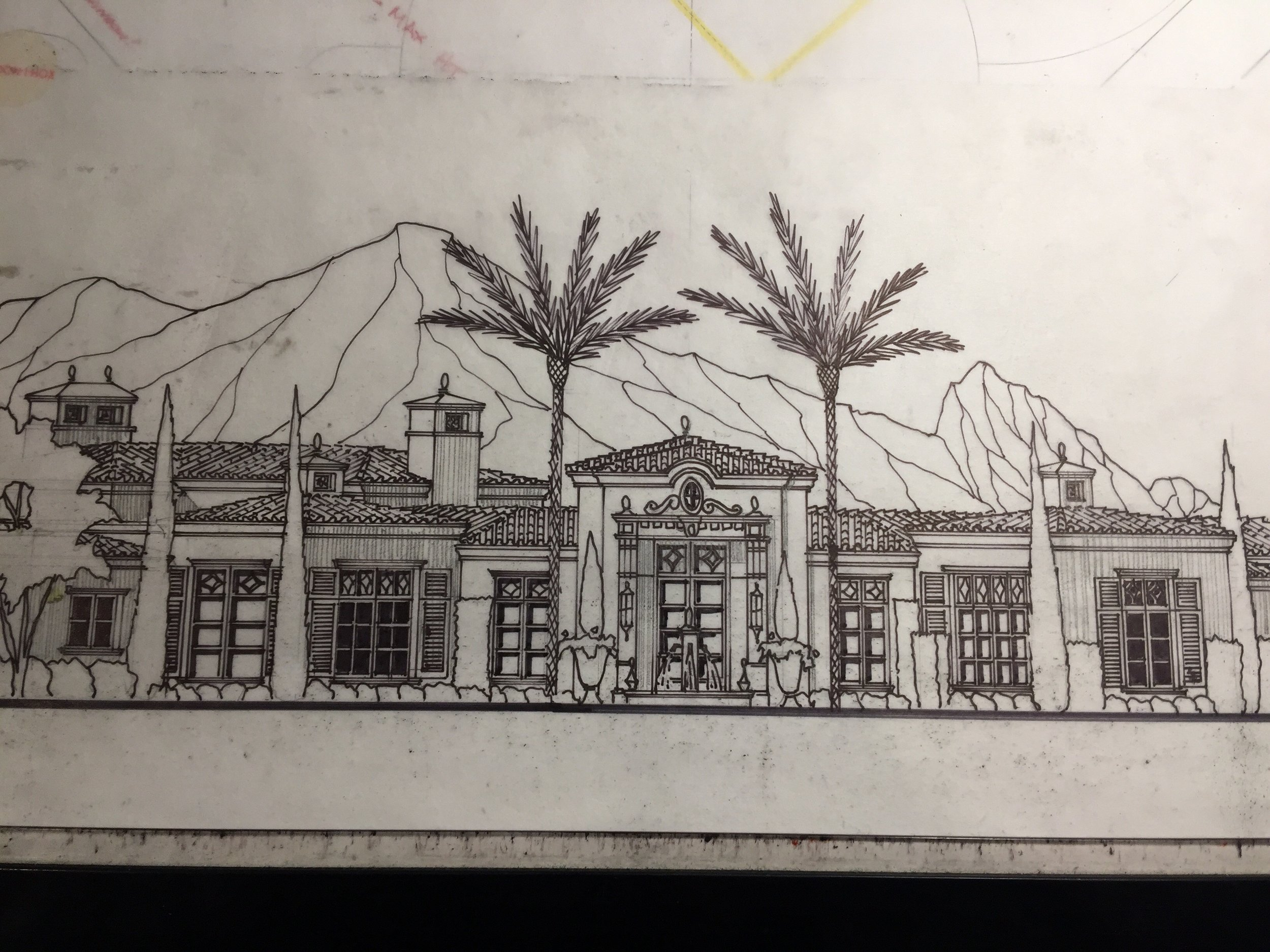 Concept rendering for a new Candelaria Design home in Paradise Valley