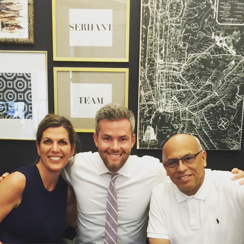 Isabel, Ryan Serhant, and MC