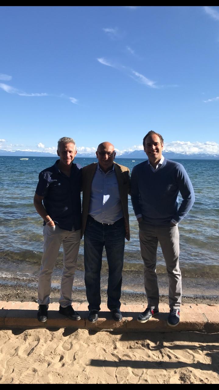 Mark Murrell, Martis Camp Sales Team, MC and Frank DeBlasi US Bank - Lake Tahoe