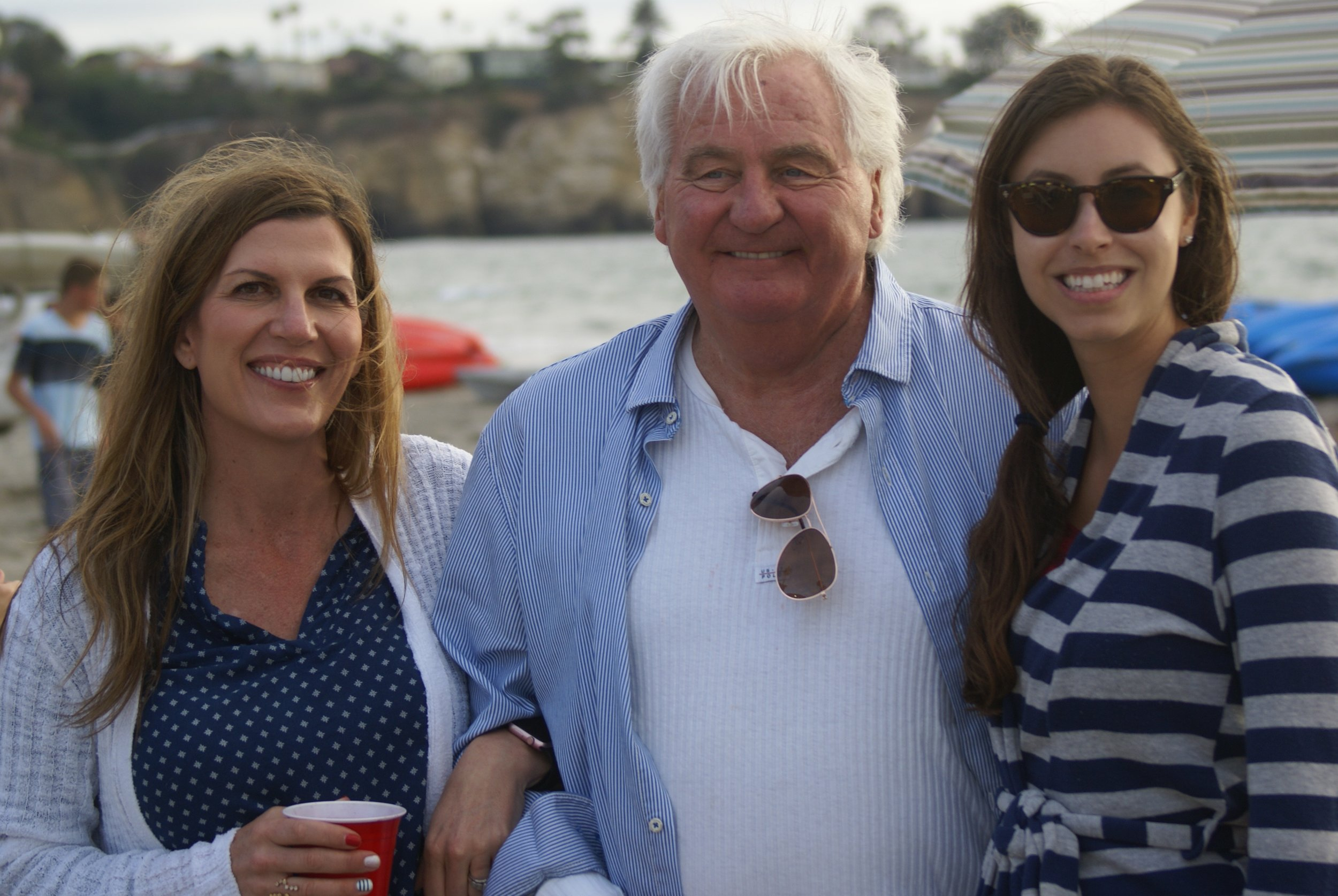 Isabel, Don Ulrich and my daughter, Tiffany - LaJolla, CA 2106