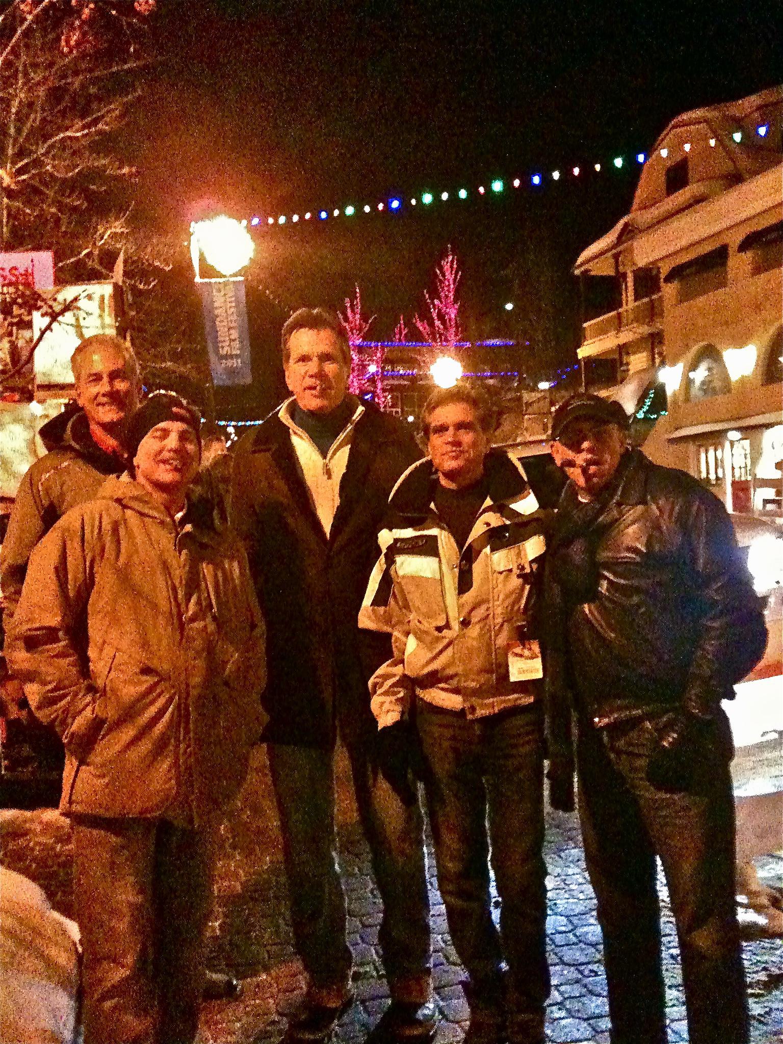 The ski crew in Park City