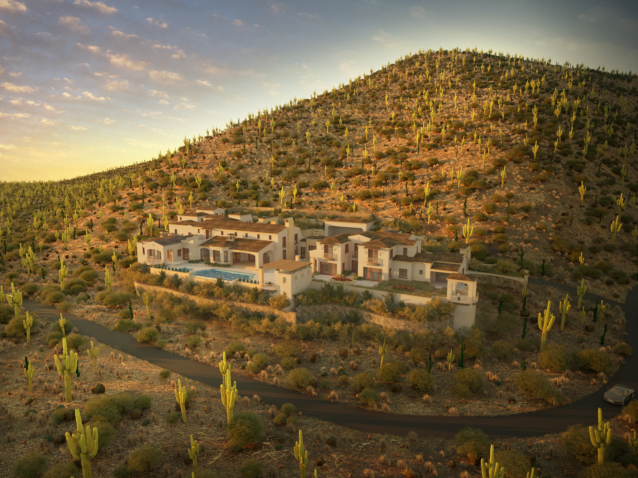 Under construction in Silverleaf with Schultz Development