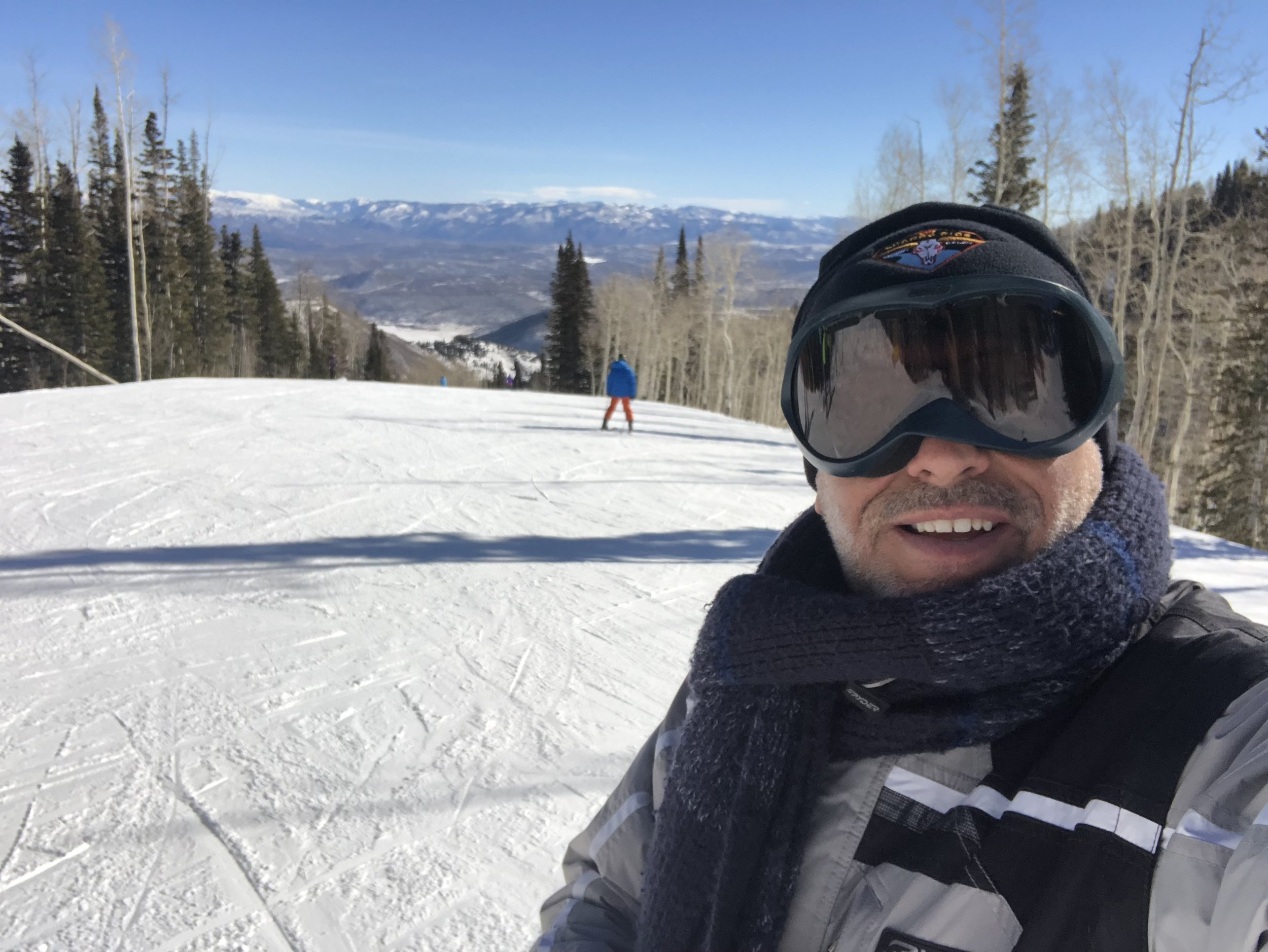 On the slopes in Park City