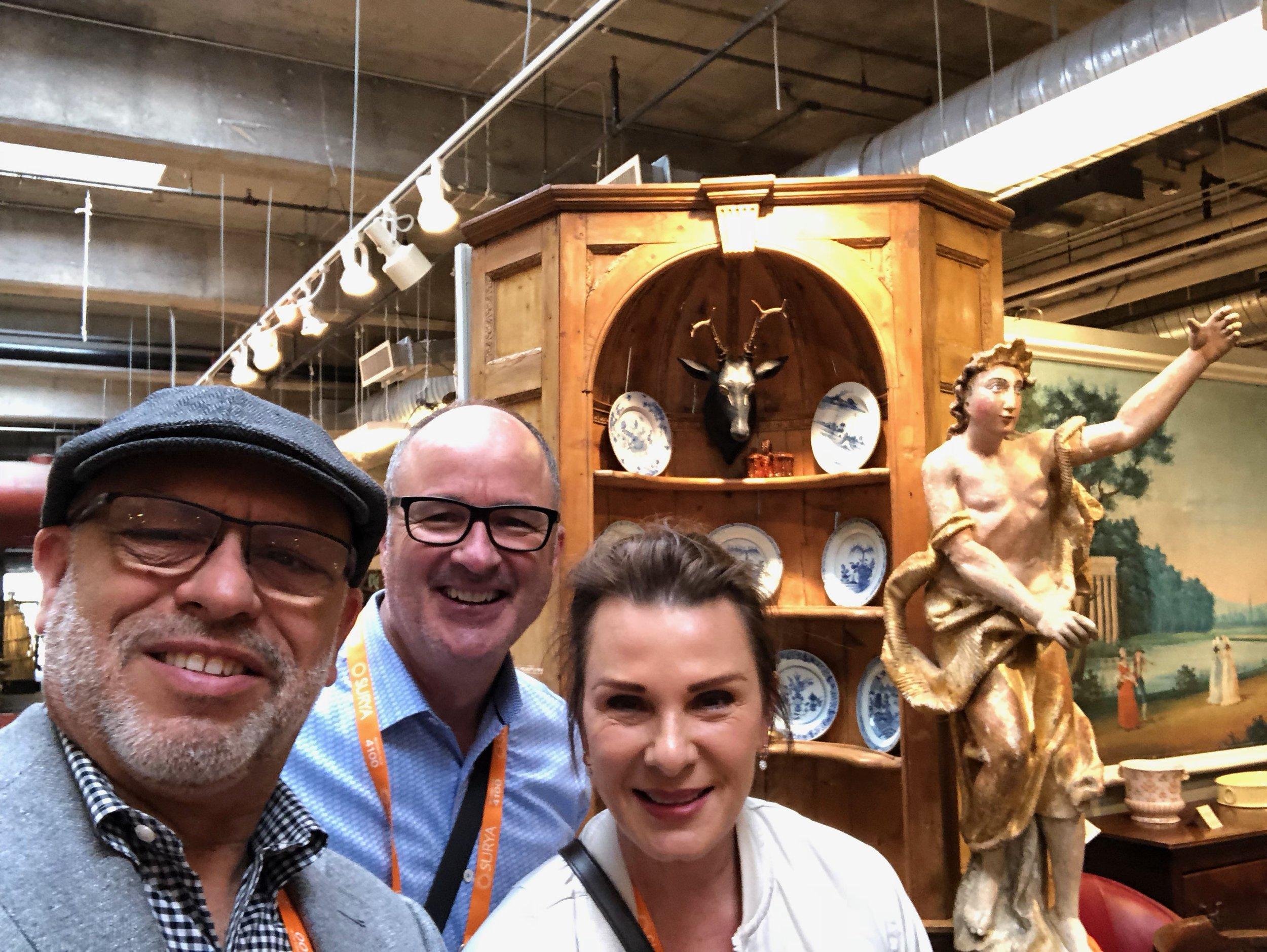 Always fun to run into Rodger and Jamilynn Fournier at Market