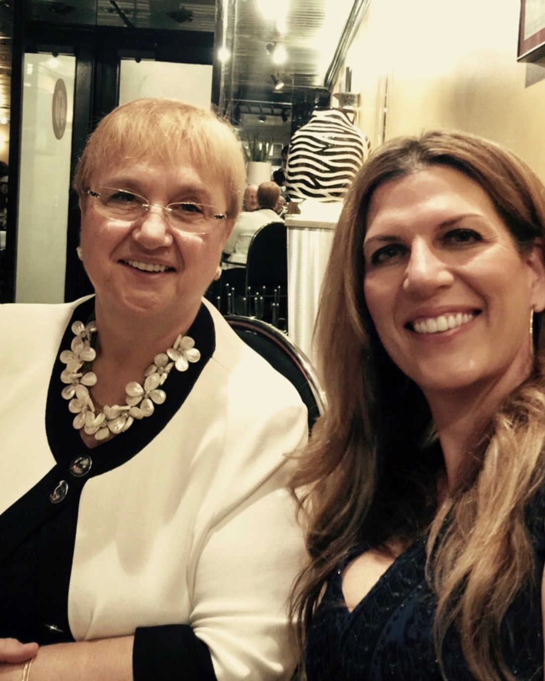 Lidia Bastianich and Isabel at Avanit's