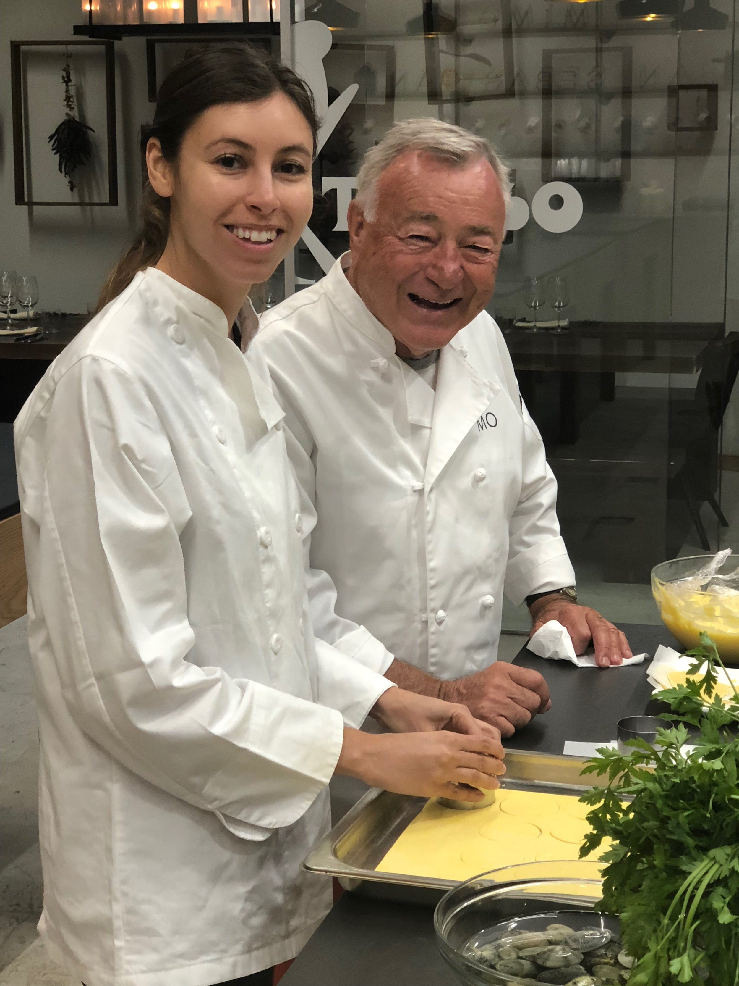 Tiffany and Bill Stankovic cooking away at Mimo.