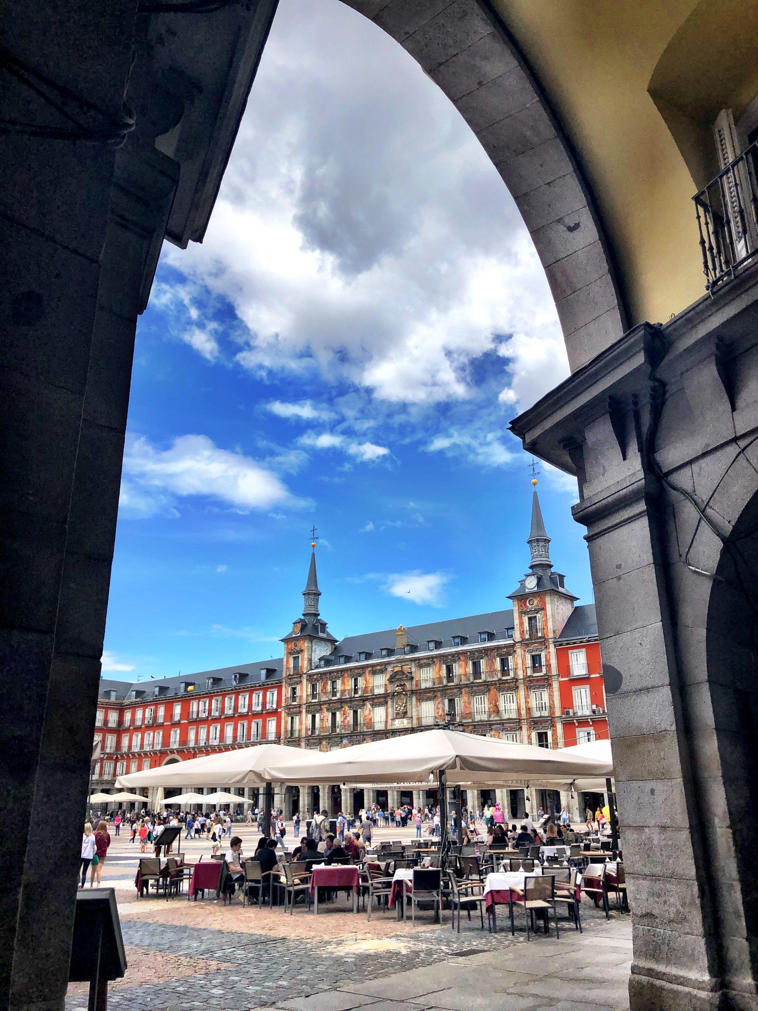 Plaza Mayor, Madrid 2018