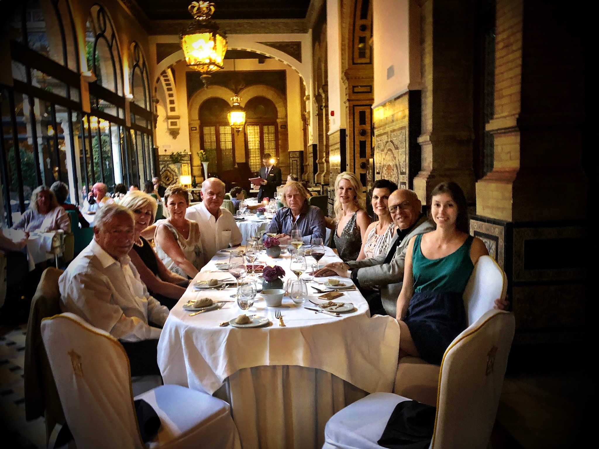 The Spain 2018 Travelers in Sevilla