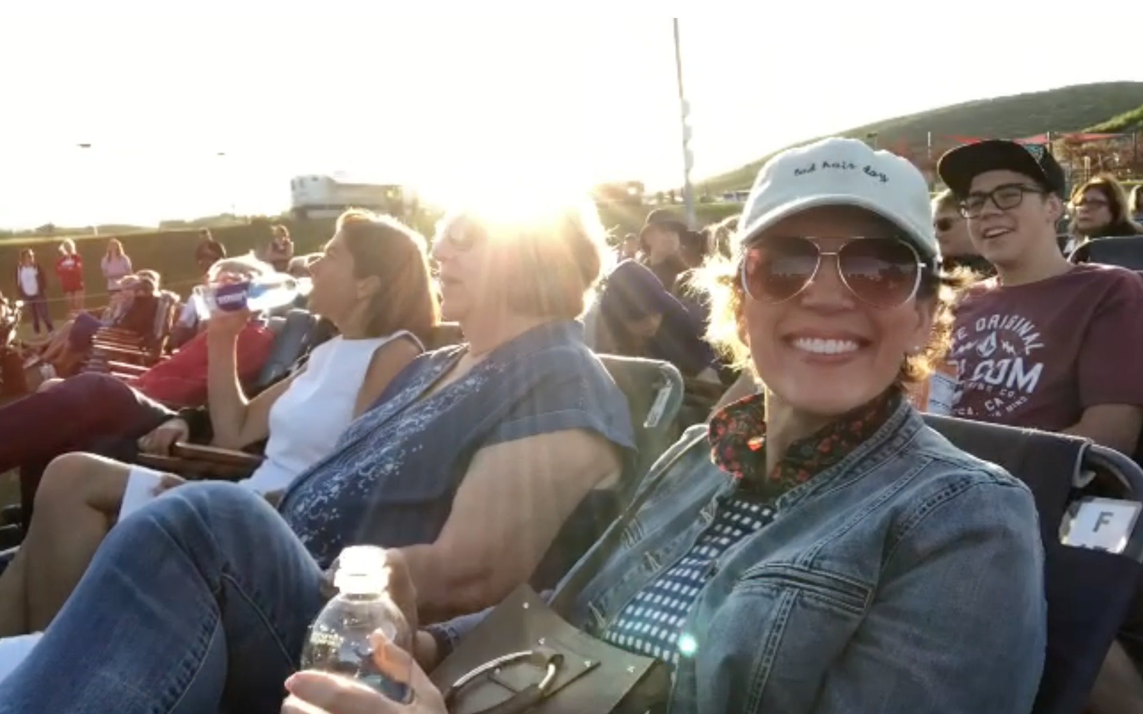 Ember Conley, Alette Thompson and Isabel at the Los Lonely Boys Concert - Park City 2018