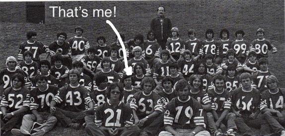 Varsity Football Team Durango High School 1978
