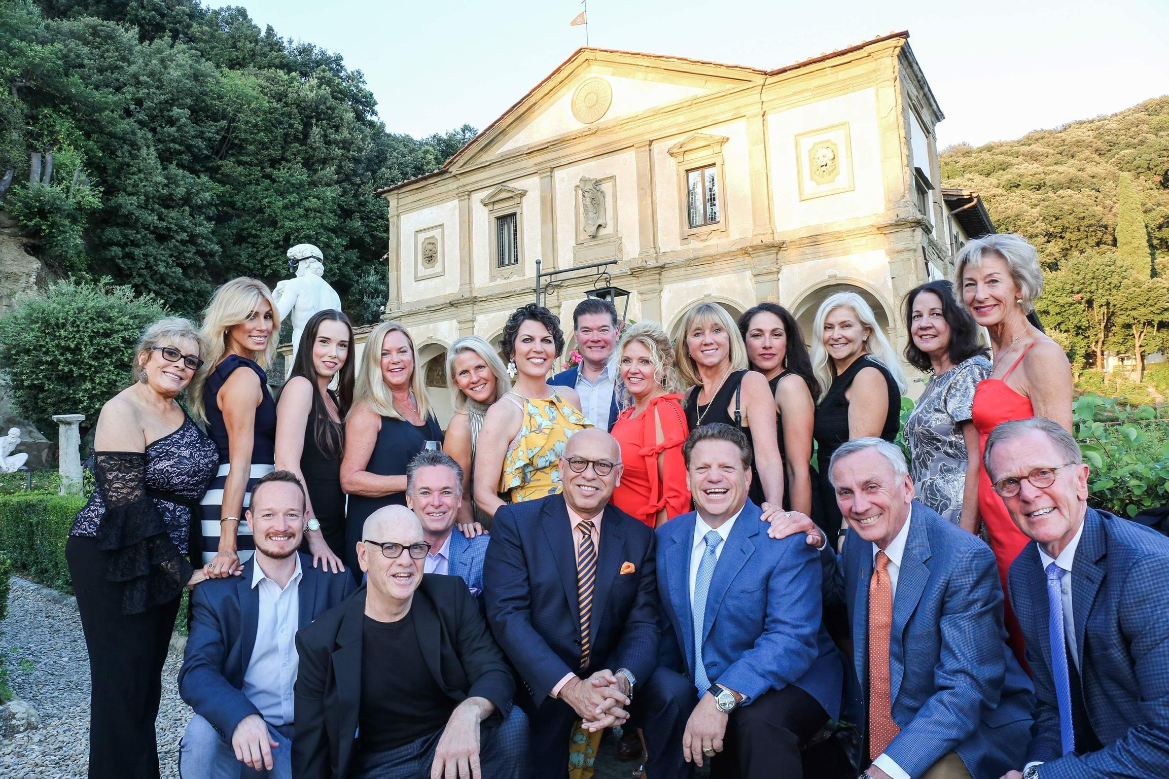 The 2018 Candelaria Design Tour Italy Crew