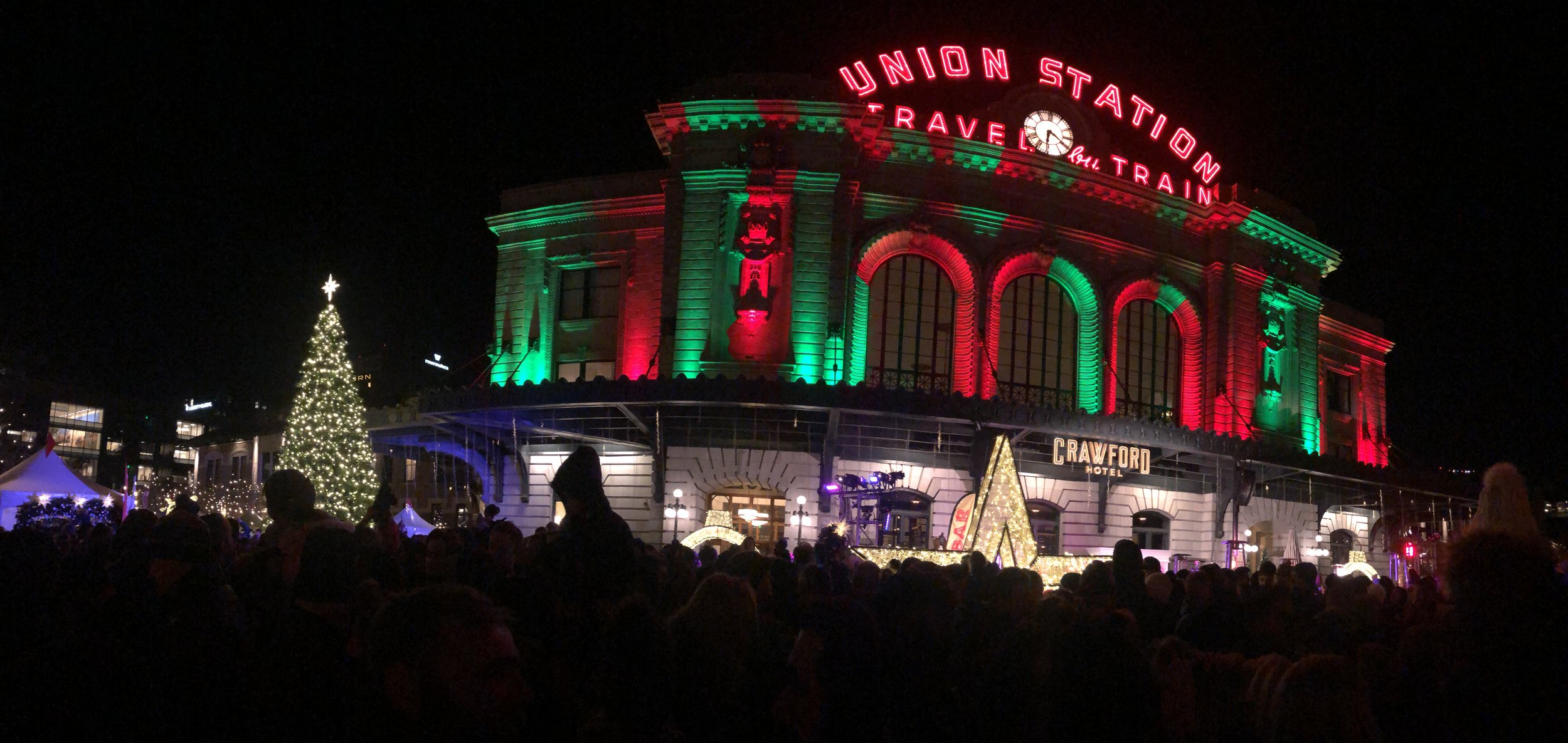 Denver Union Station Tree Lighting