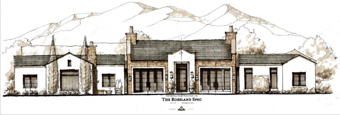 Rossland Spec Home Concept Rendering