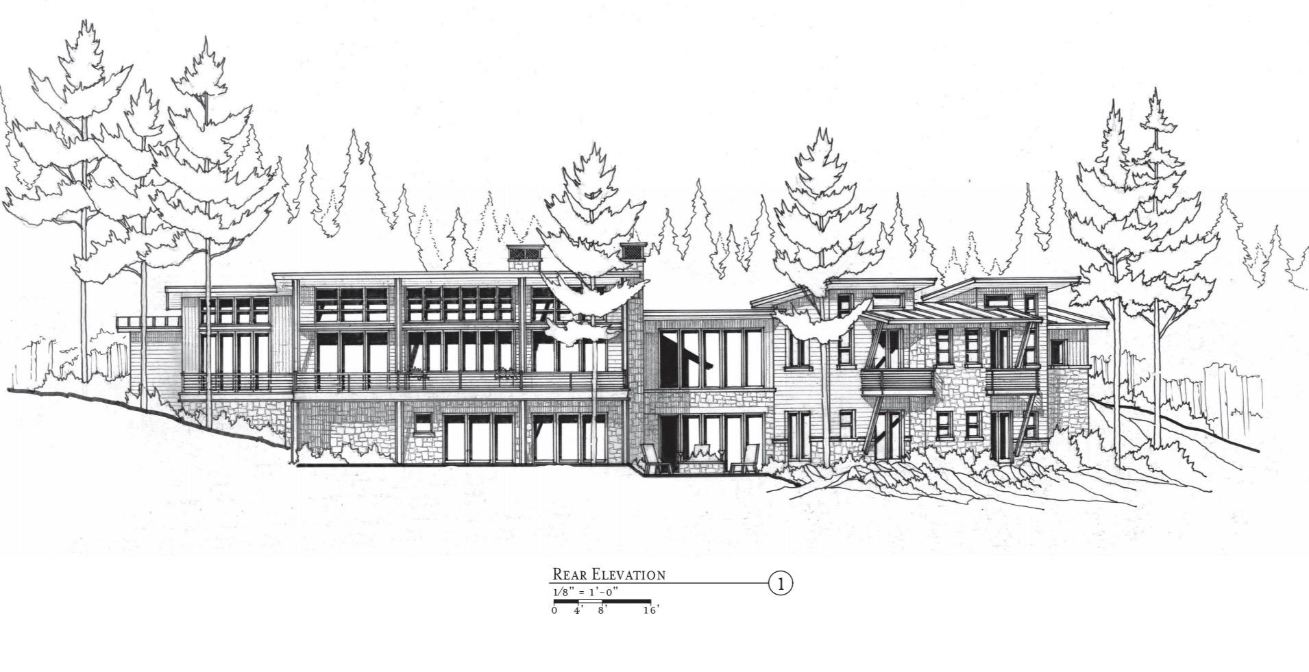 Candelaria Design Mountain Contemporary Spec Home in Pine Canyon