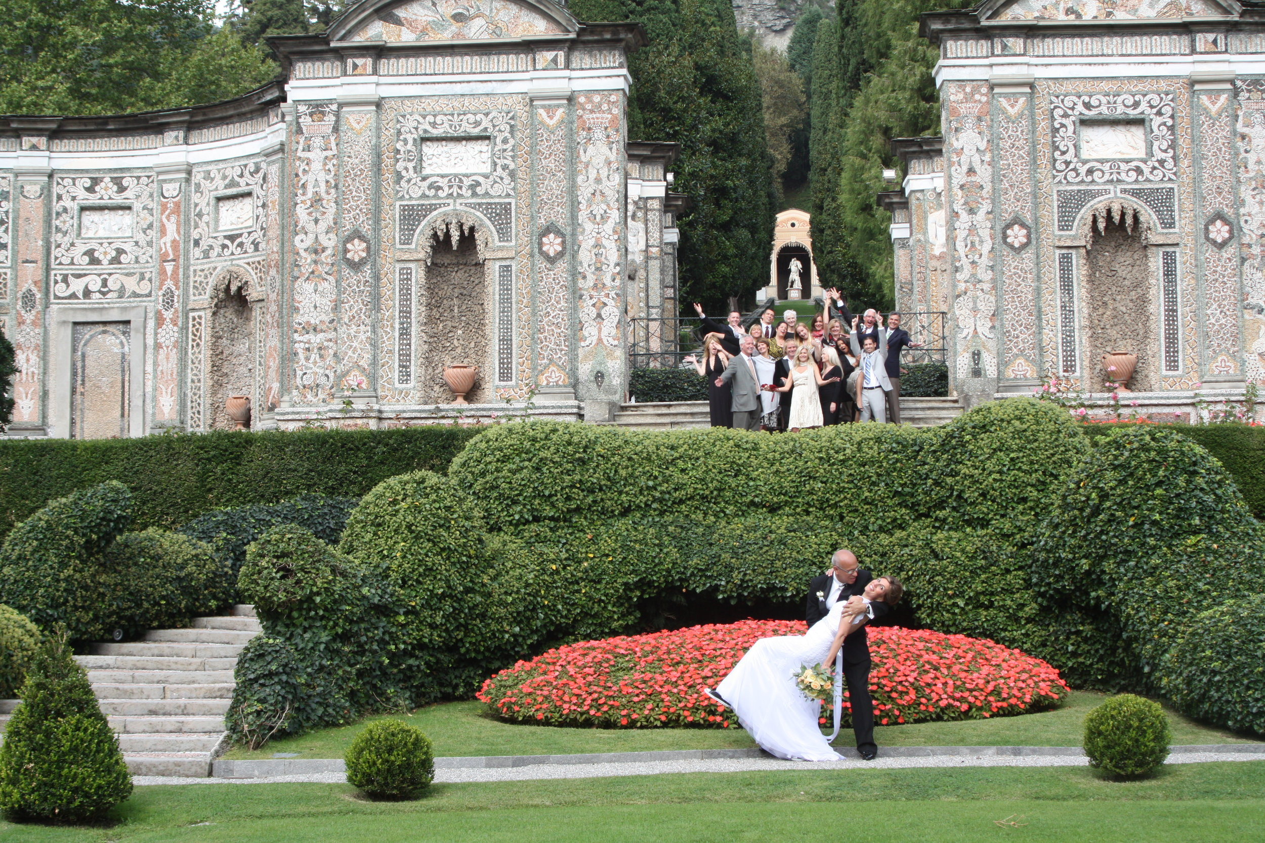 Wedding day to my sweet Isabel at the Villa d'Este September 16, 2013