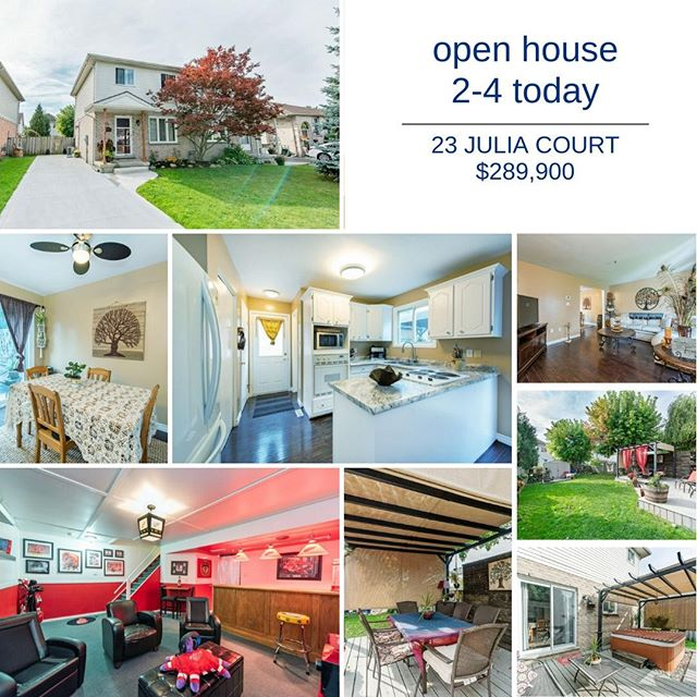 Stop by today and let me give you the tour of this 3 bedroom, 2 bath fully finished 2 storey semi-detached on a cul-de-sac.  6 man hot tub and 418.8 square foot entertaining deck.  Perfect for first time buyers!  #OpenHouse #HomesForLife #RoyalLePageTriland #HelpingYouIsWhatWeDo #RealEstate #LdnOnt #RealEstateLdnOnt #LdnOntRealEstate #HomeBuying #HomeSelling #LondonRealtor #LdnRealtor #RealEstateAgent #LdnOntRealtor #LondonRealEstateAgent #LdnOntRealEstateAgent #Realtor #London #LondonOntario #RoyalLePage