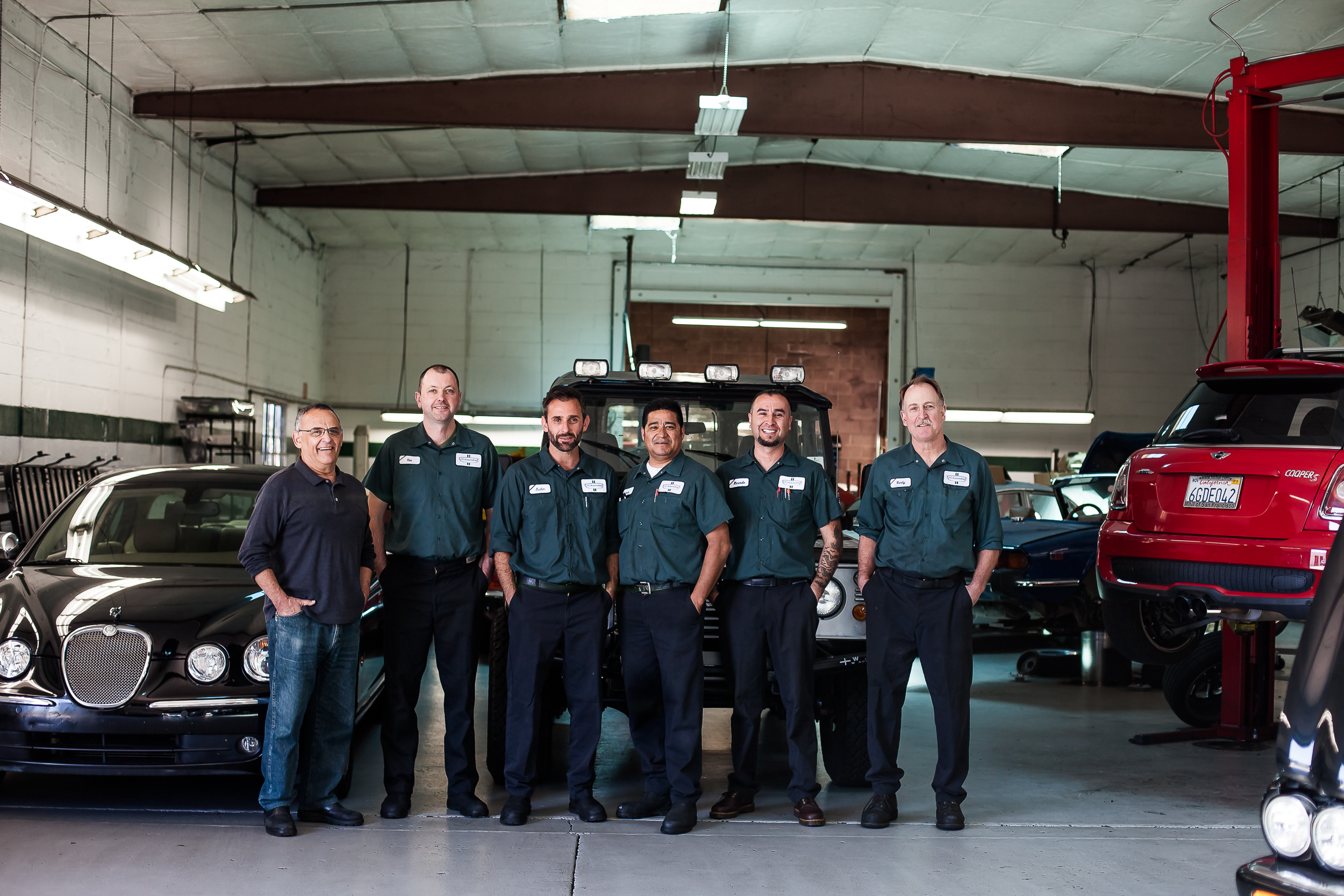 J&G Automotive   Marin's Leading Independent British Car Repair Facility   Meet the Team