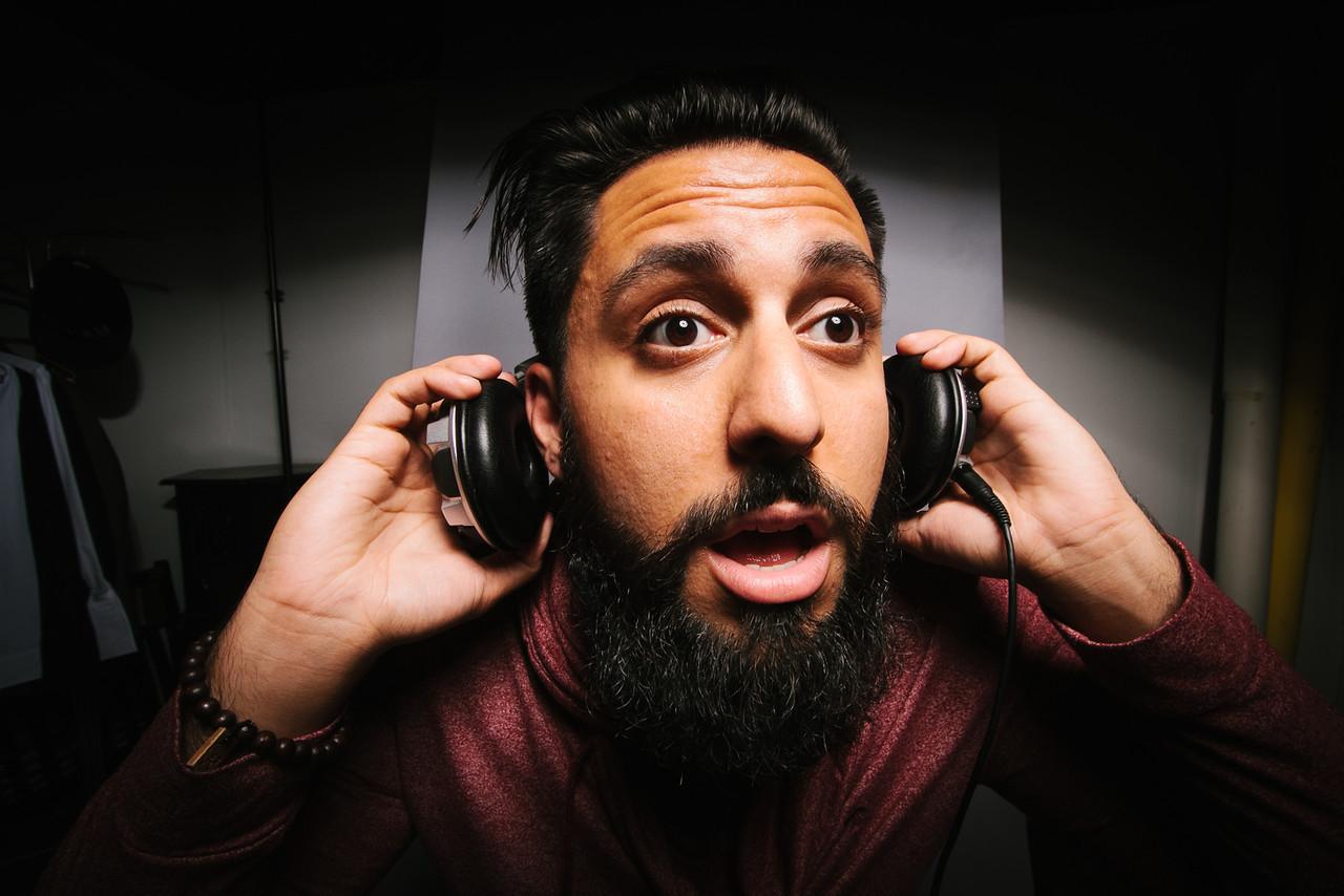DJ Editorial Portrait