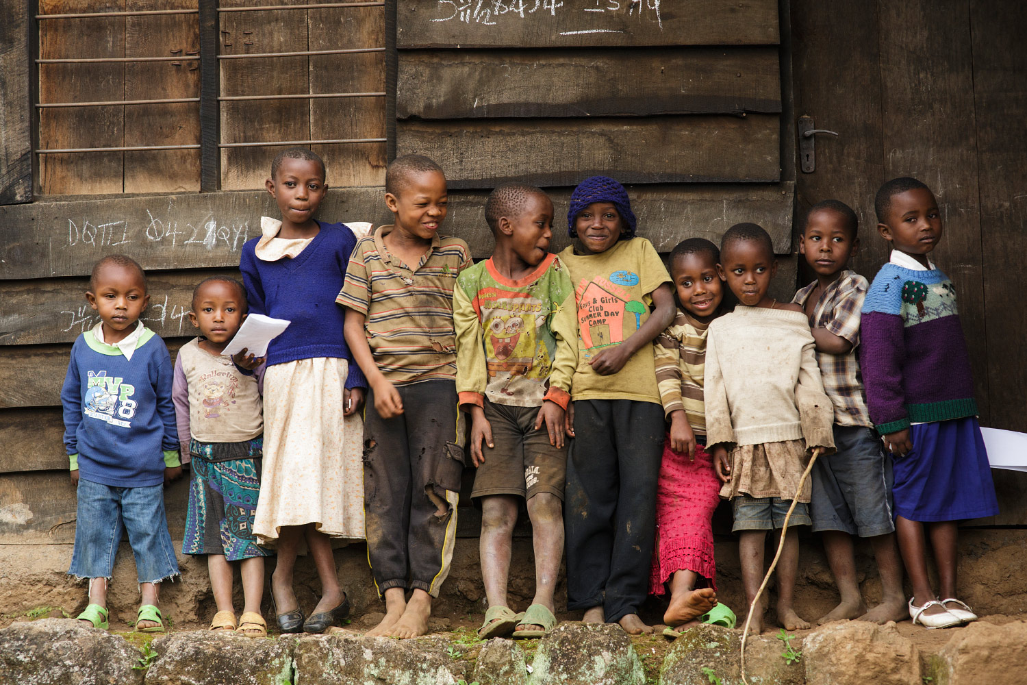 Village children in Kibosho-Umbwe