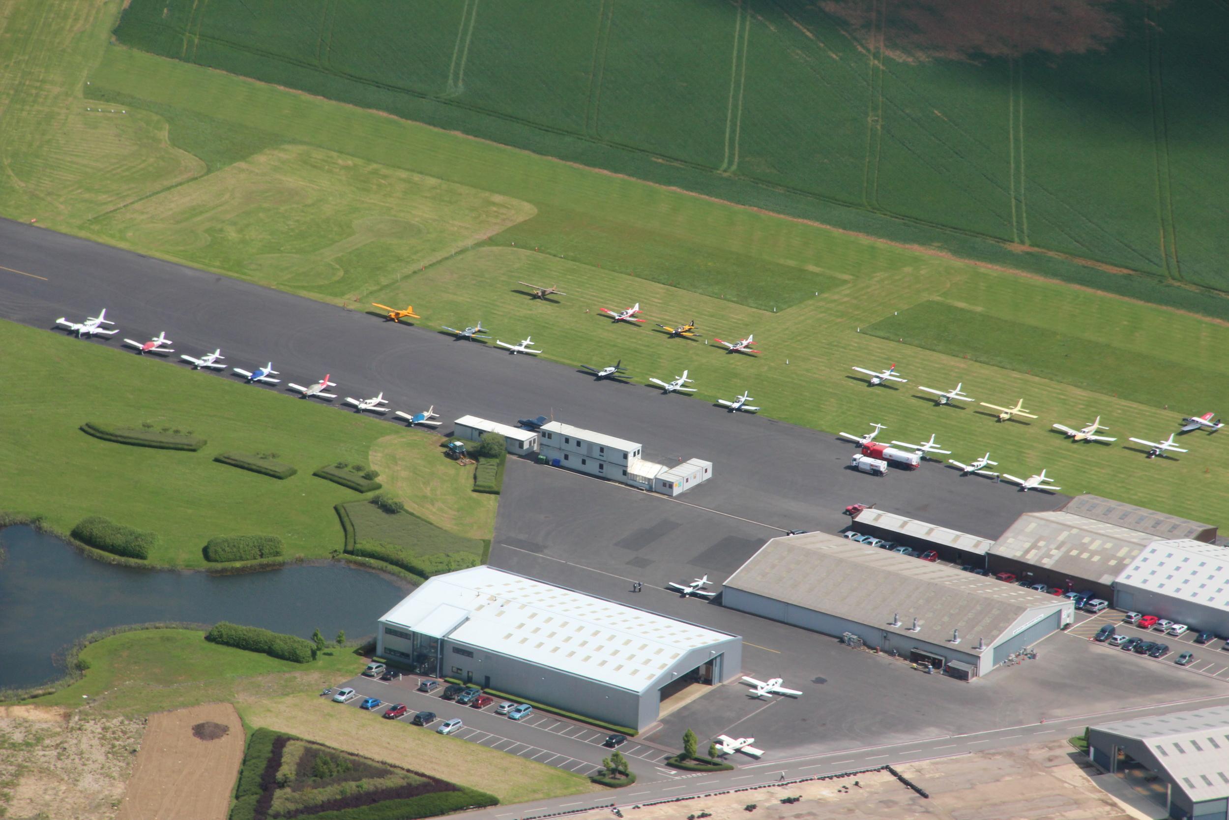 Photos of the aerodrome