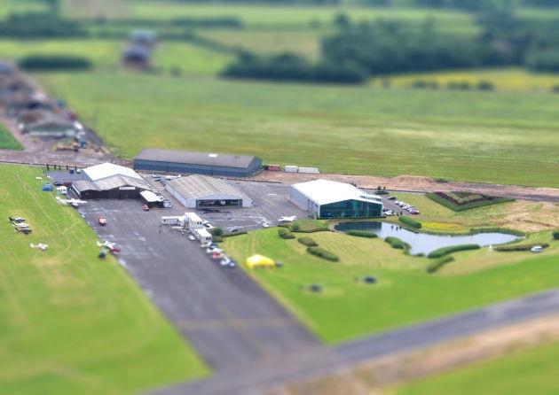 Driving at Turweston Aerodrome Brackley