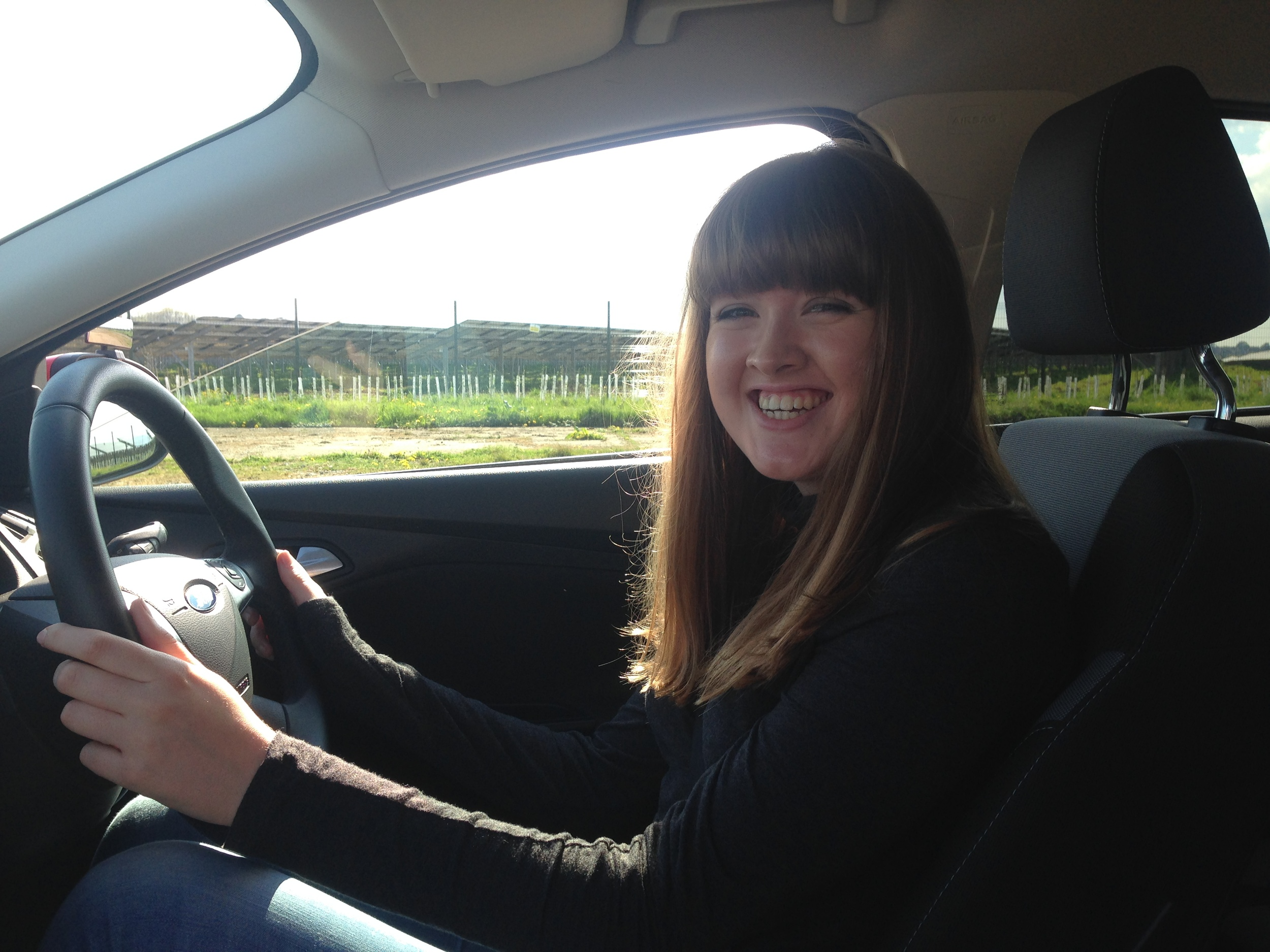 Sophie Rooney (18) Off road lesson with Mark Prewett on Sun 26th April 2015. Well done!