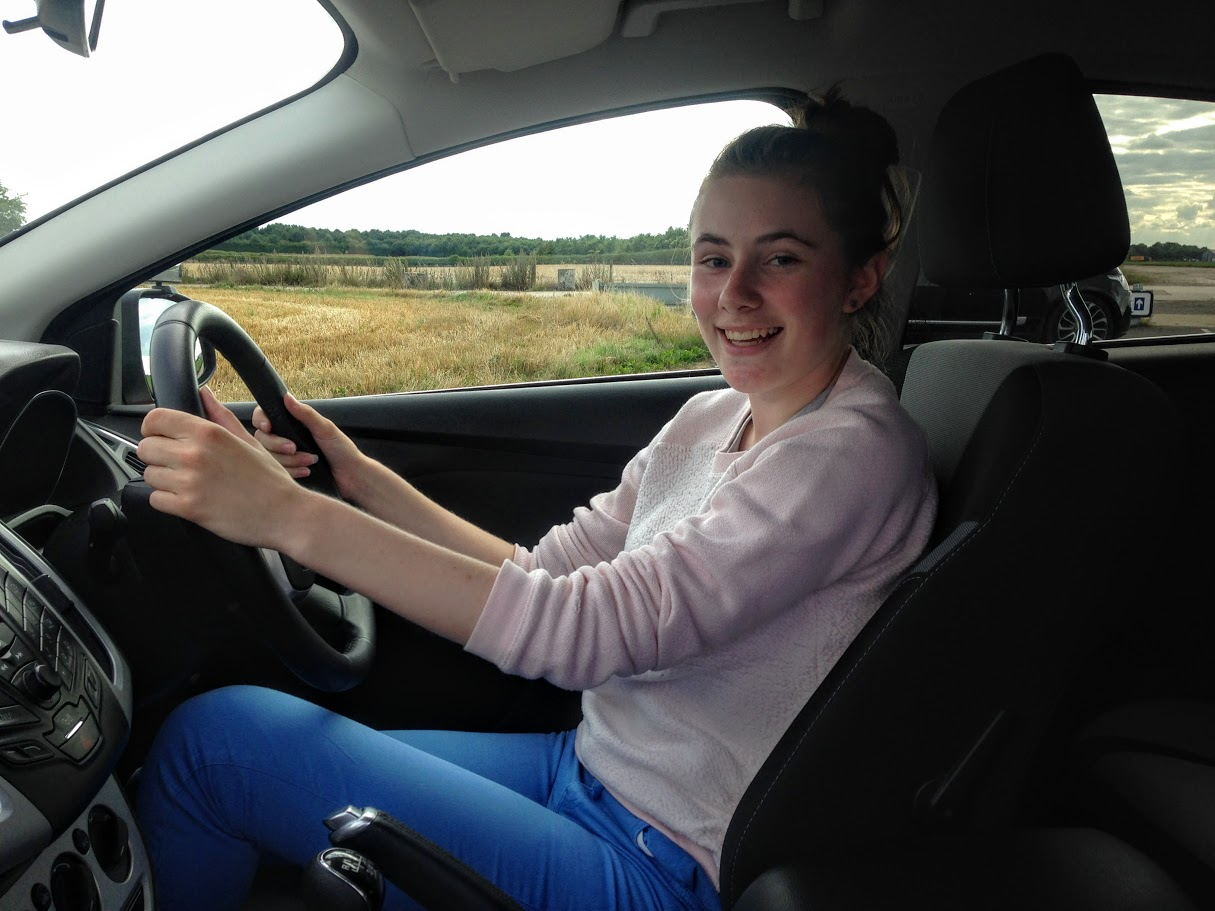 Under 17 driving lessons Northamptonshire