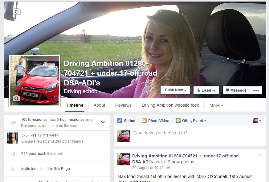 under 17 driving facebook