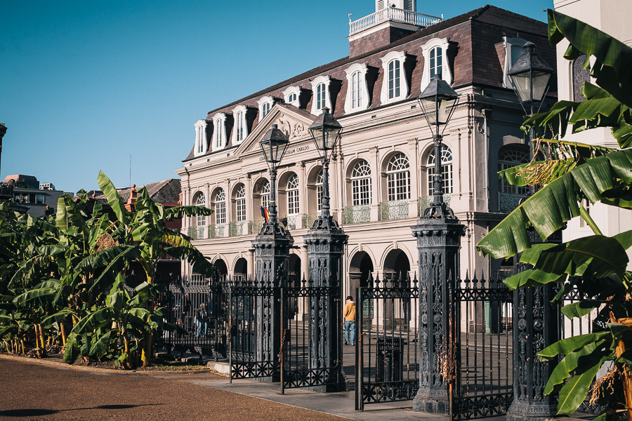 The Gates of Jackson Square