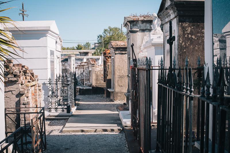 Walking Through the Tombs