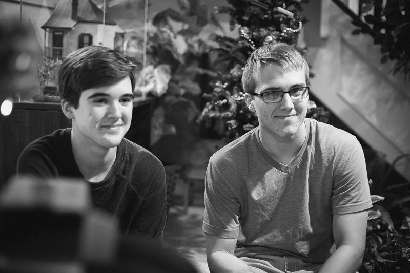 Alex and Josh