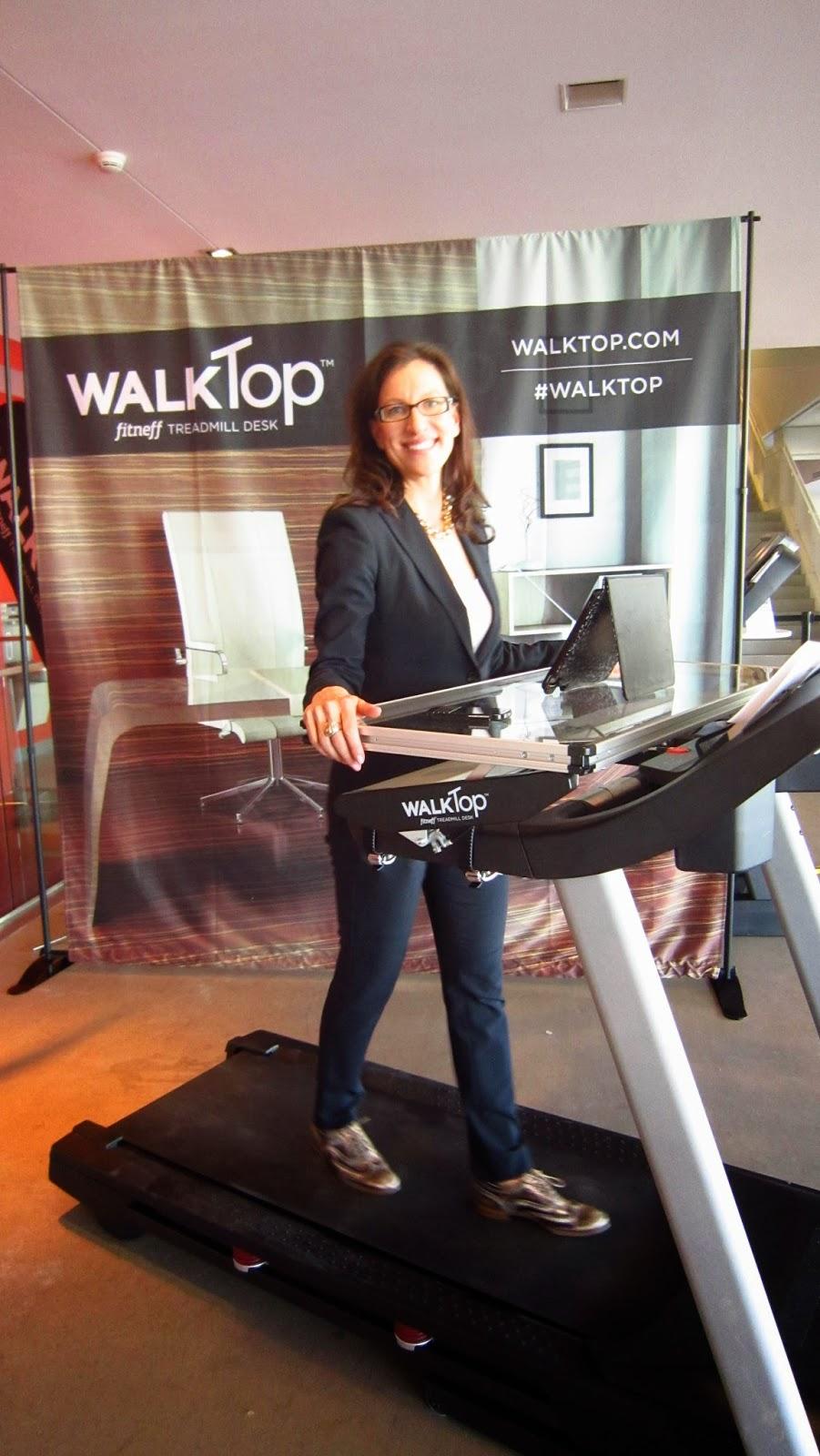 WalkTop co-founder Laurel Walzak