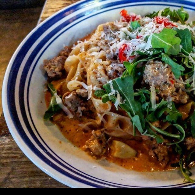 Hearty #Italian #comfortfood @scaddabush. #food #foodie #foodporn #foodstagram #instafood #instagood #foodcoma #foodpic #foodpornTO #Torontofood #Torontoeats #tasteToronto #foodToronto #latergram #delicious #yummy #tasty #nomnoms #picoftheday #Toronto #pasta #pizza #mangia #Italiano