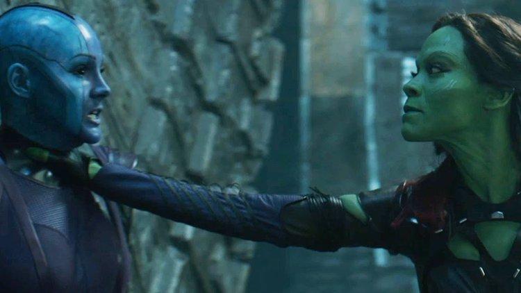 Gamora saves Nebula - and sacrifices humanity