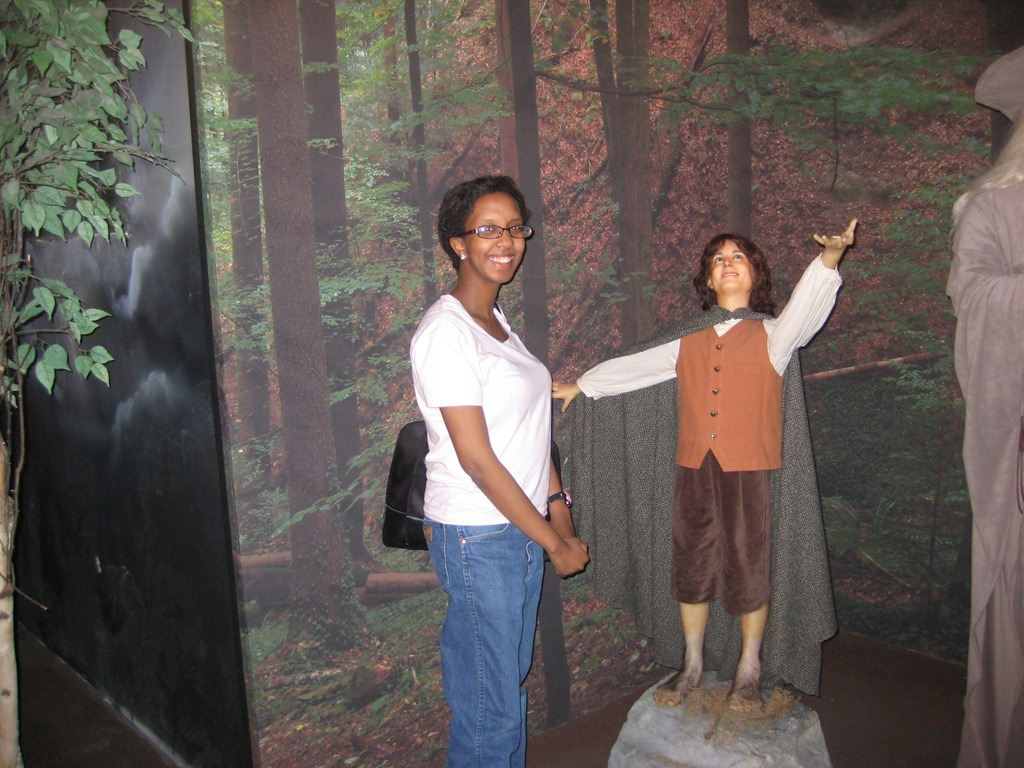 Mahlet and Frodo at the Branson Wax Museum