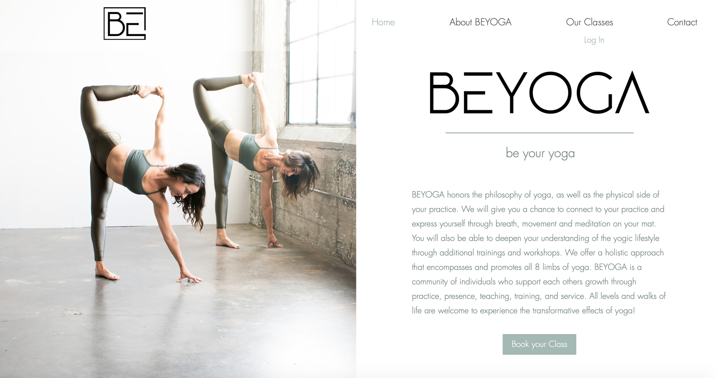 Website: beyoga.com  Photography by Billy Morquecho