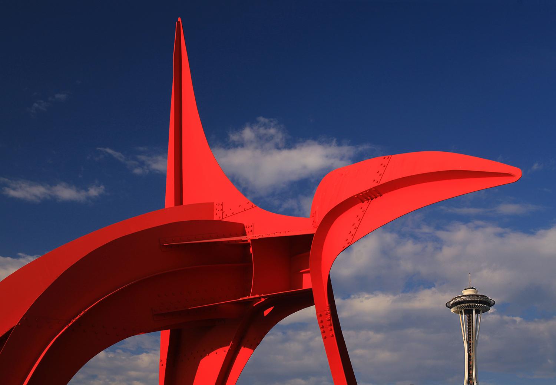 Seattle Art Museum Park, Seattle, Washington, USA