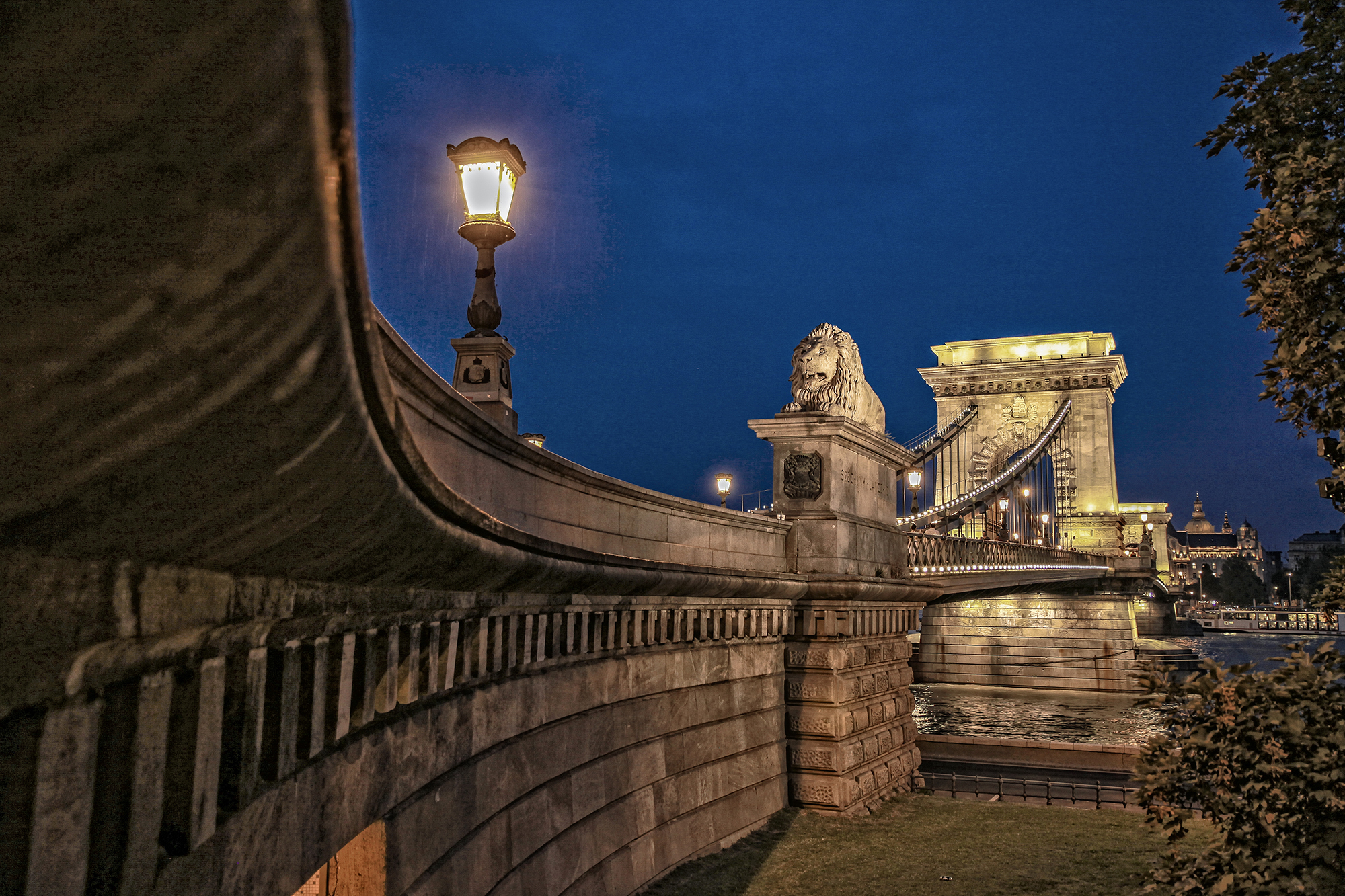 The Chain Bridge, Budapest, Hungary