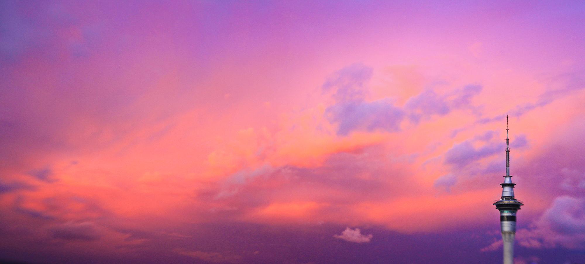 Auckland Sky, New Zealand