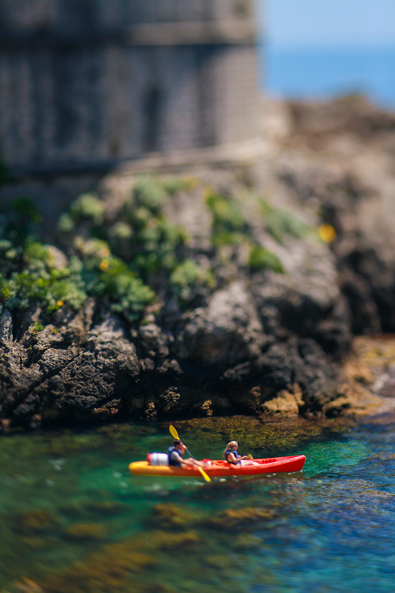 Kayaking in Dubrovnik