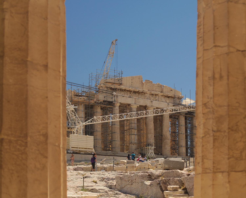 The Parthenon, the Acropolis of Athens