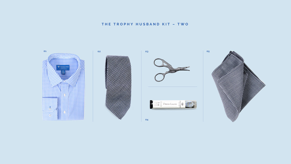 October/November FEATURED MAN-KIT: The Trophy Husband Man-Kits
