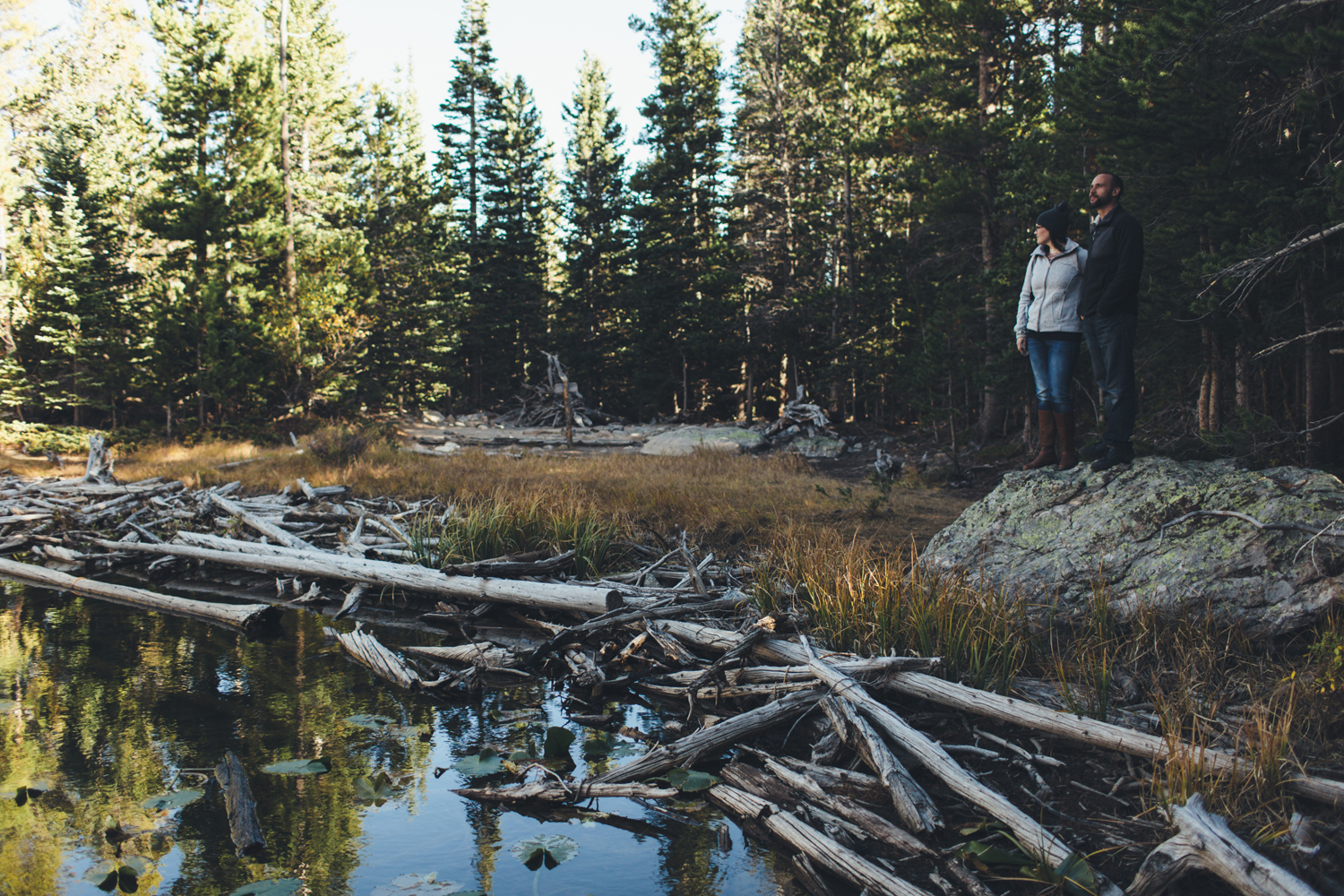Jillian VanZytveld Photography Rocky Mountain National Park Engagement Portraits - 32.jpg